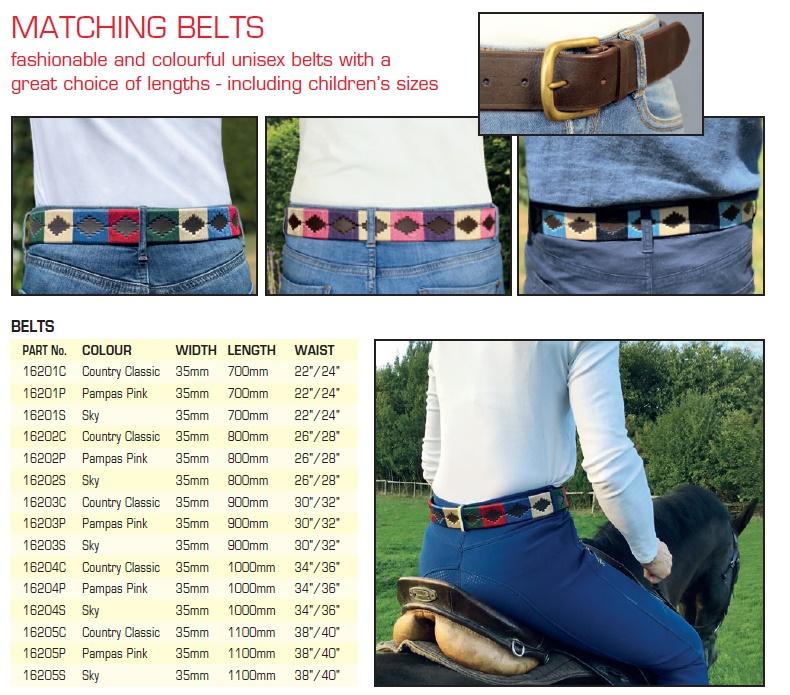 Belt Info