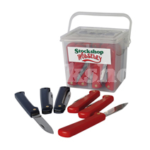 RED/BLUE MIXED KNIFE PACK(30PC