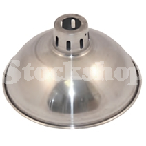 WIDE REFLECTOR FOR DULL EMITTER BULB