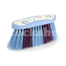 HORSE SHOE FLICK BRUSH BLUE