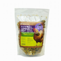 NATURES GRUB FRUIT & BERRY SUPERFOODS POULTRY TREAT 600G