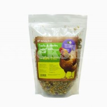 NATURES GRUB GARLIC & HERB SUPERFOODS POULTRY TREAT 600G
