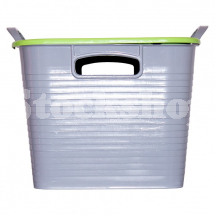GORILLA TUB® STACK 'N' STORE FLEXI-STORAGE BOX PISTACHI LID