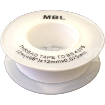 PTFE THREADSEAL TAPE(12MMX12M)