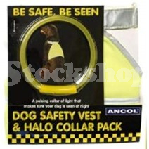 SAFETY VEST PACK SMALL COLLAR SIZE 12inch