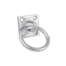 PLATE TIE RING GALVANISED