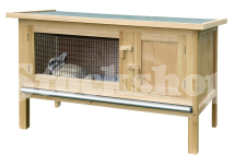 FLAT PACKED RABBIT HUTCH