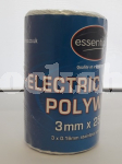 ESSENTIALS WHITE POLYWIRE 250M