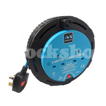 EXTENSION CABLE 4METERS 10AMP
