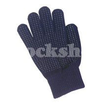 ONE SIZE RIDING GLOVES NAVY