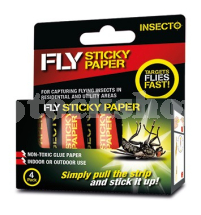 FLY PAPERS PACK OF 4PCS