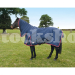 ESSENTIALS MEDIUMWEIGHT COMBO TURNOUT RUG 6'9""