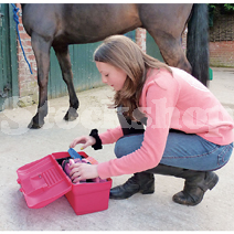Tack Boxes and Grooming Kits